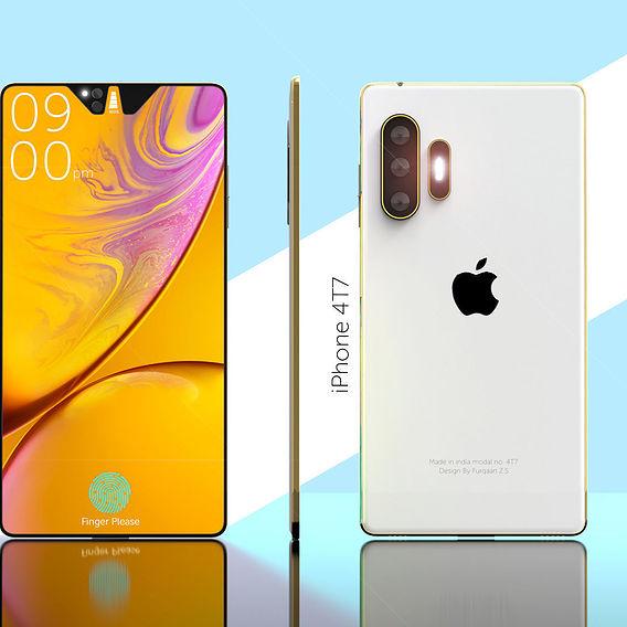 Apple iPhone 4T7 concept phone