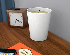 scented candle 3D asset