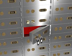 Safety Deposit Box 3D model