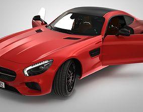 3D Mercedes AMG GT
