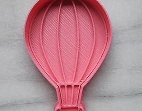 Hot Air Balloon Cookie Cutter 3D print model