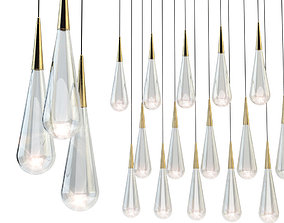 Pour lights by design haus liberty 3D model