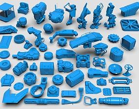 3D Kit bash - 57 pieces - collection-27