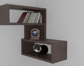 3D model shelf shelve