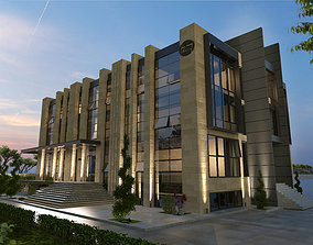 3D model OFFICE BUILDING architecture