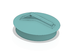 plug for draining the sink and bath water lock 3d-print