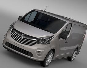 3D Vauxhall Vivaro Van Biturbo 2017