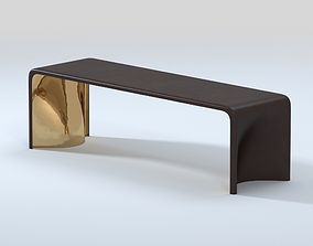 Muse Design - Khetan Bench Antique Bronze 3D model
