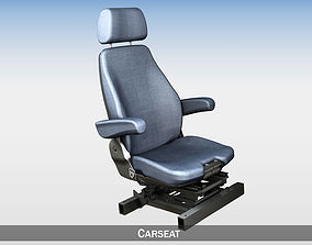 interior Car - Truck - Seat witch attachment 3D model