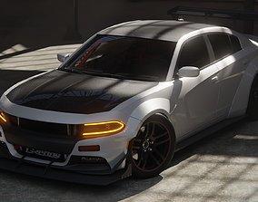 Dodge Charger SRT Modified body 3D model