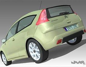 Citroen C4 3D model