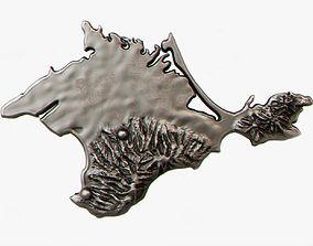 3D print model Crimea land