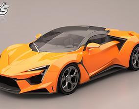 W Motors Fenyr Supersport 3D model