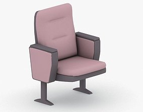 3D asset VR / AR ready 0886 - Theater Seating