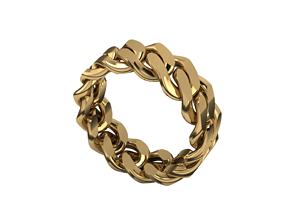 Cuban rings 3D print model