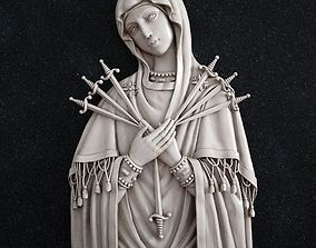 3D printable model The Icon of the Mother of God Seven