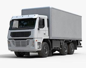 Generic Rigid Truck 3D asset