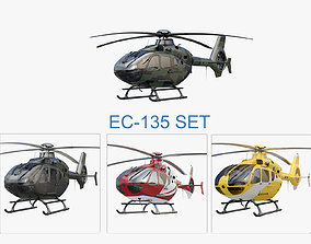 3D Eurocopter Set