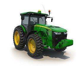 Tractor John Deere 8335R 3D model