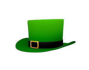 3D model Green Hat