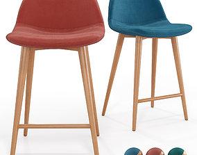 3D model Bar Chair Lavergne