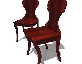 3D model realtime Regency Hall Chair