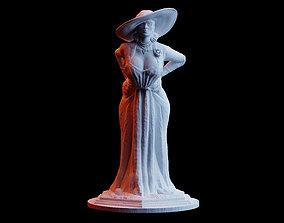 3D printable model Resident Evil Village Alcina Dimitrescu