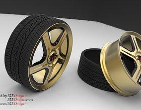 3D Car Wheel ABL-R01 Rim