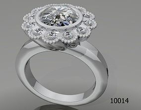 Jewelry ring for women beautifule 3d model for 1
