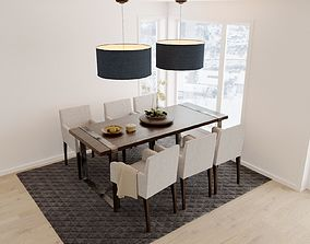 3D chair Dining table
