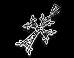 3D printable model Celtic cross 3