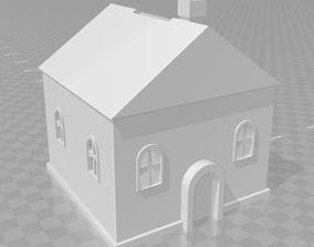 House piggy bank 3D print model