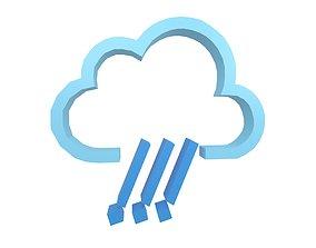 Weather Symbol v3 004 3D model