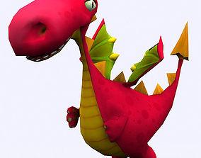 3D asset Toonpets dragons
