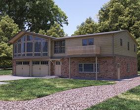 3D Single Family Home - Vray