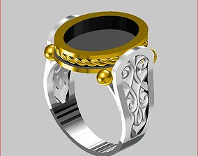 3D printable model Men - Ring