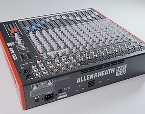 3D model Audio mixing console