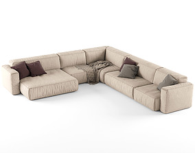 Koo International SOFT Sofa 4 3D model