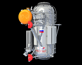 3D Rassvet Mini-Research 1 MRM-1 Module
