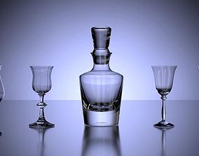Liquor Set 3D model