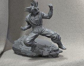 Goku - Dragon ball Z games-toys 3D print model