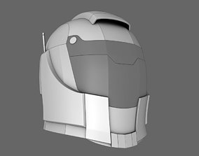 3D model Halo Sci Fi Helmet