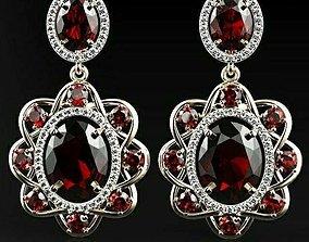 Women earrings 3d 3D print model