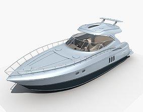 Yacht 01 3D yacht