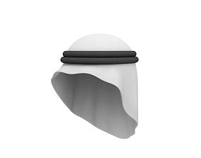 Arab Headdress 3D model