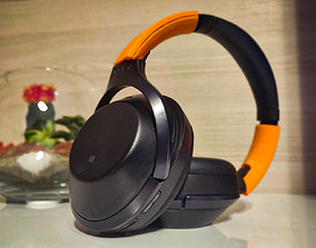 Sony MDR 1000X bracket 3D print model