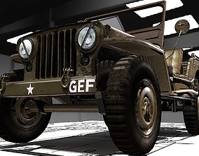 Jeep Willy M-38 3D model
