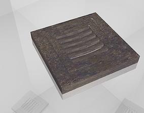3D model Street Drain or Water Drain