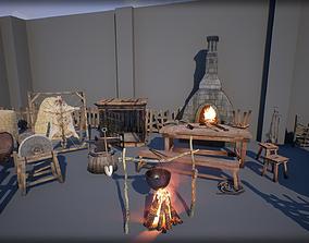 3D asset Medieval Props Pack 2