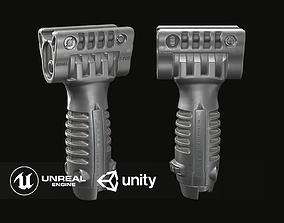 Vertical Foregrip - T-Pod - Grip - Bipod 3D model